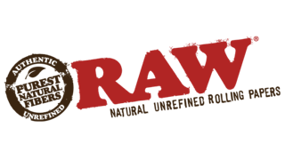 Raw products, Raw natural unrefined rolling papers logo