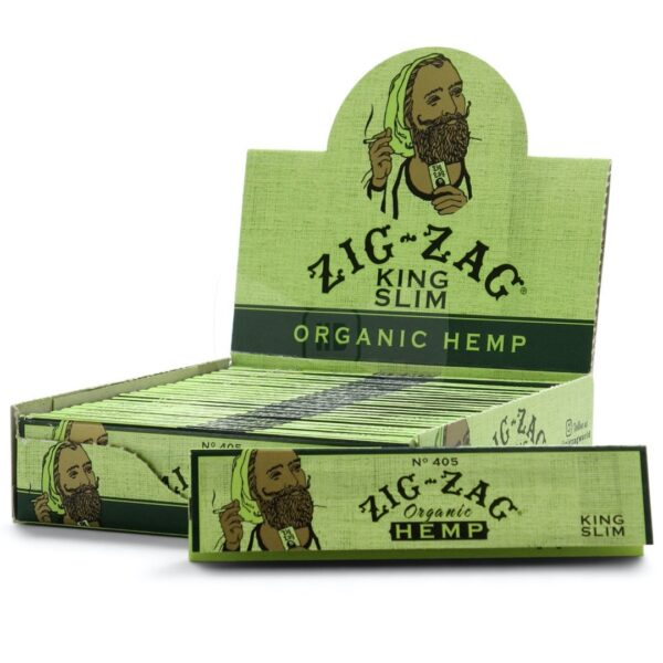 Zig Zag king size organic hemp rolling papers