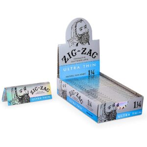 """Zig Zag Rolling Papers Ultra Thin 1 1/4"""""""